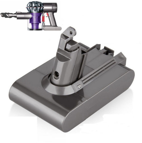 For DYSON — V6 LONGER RUN-TIME 3000mAh high-capacity battery, for DC58, DC59,  SV03, SV04, SV05, SV06. Fits all V6 models
