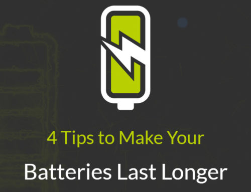 4 Tips to Make Your Batteries Last Longer