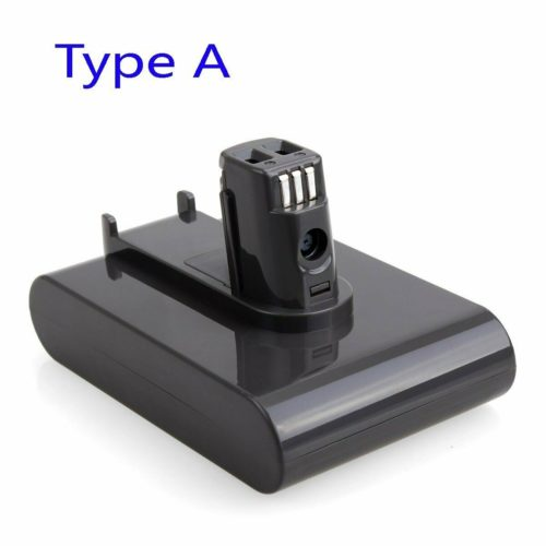 for Dyson – battery DC31, DC34, DC35, DC44, DC45. 22.2V Li-ion: Type A